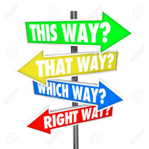 Which way do you want to go in life? God's way is best!